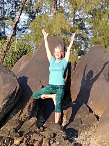 yoga teacher Our Jungle House