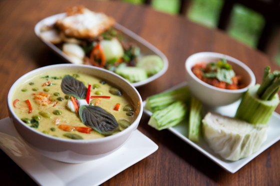 High quality Thai favorites, specialty dishes, western comfort food, and delectable desserts.